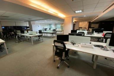 Furnished office space for rent in Indiranagar